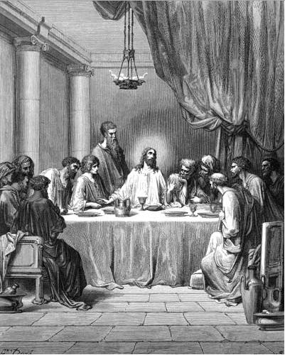 иллюстрация к библии ЕВАГЕЛИЕ ОТ ИОАННА глава 13