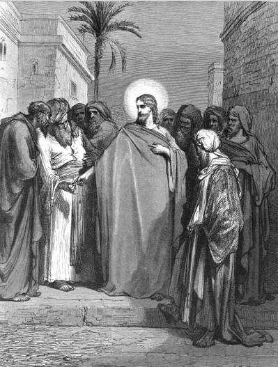 иллюстрация к библии ЕВАНГЕЛИЕ ОТ МАТФЕЯ глава 22