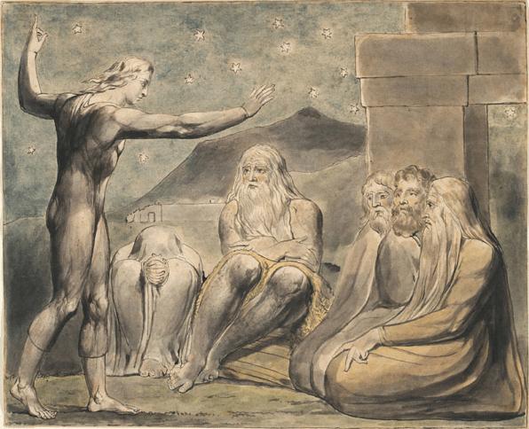 иллюстрация к библии КНИГА ИОВА глава 32