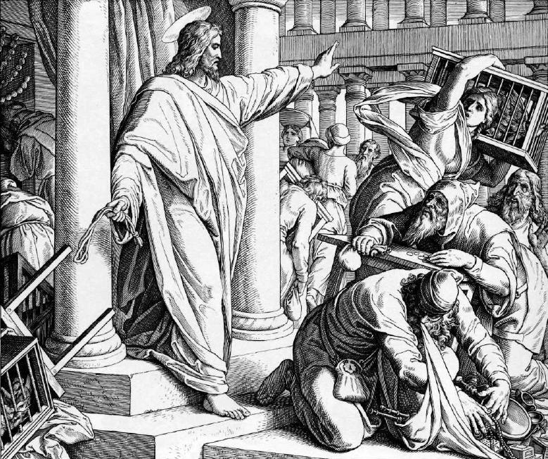 иллюстрация к библии ЕВАГЕЛИЕ ОТ ИОАННА глава 2