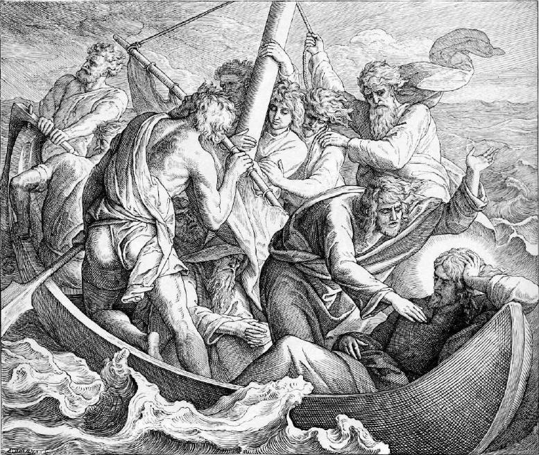 иллюстрация к библии ЕВАНГЕЛИЕ ОТ МАТФЕЯ глава 8