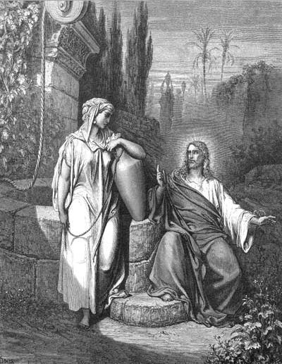 иллюстрация к библии ЕВАГЕЛИЕ ОТ ИОАННА глава 4