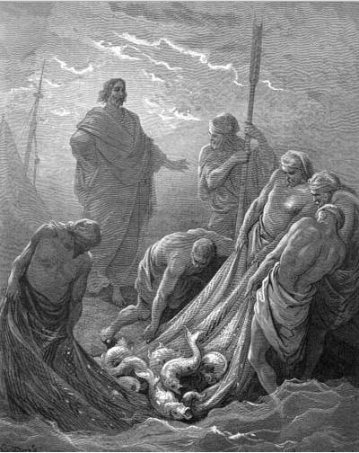 иллюстрация к библии ЕВАГЕЛИЕ ОТ ИОАННА глава 21