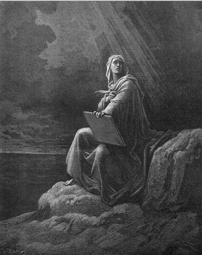 иллюстрация к библии ОТКРОВЕНИЕ ИОАННА БОГОСЛОВА глава 1
