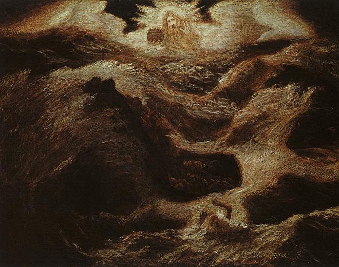 иллюстрация к библии КНИГА ПРОРОКА ИОНЫ глава 1