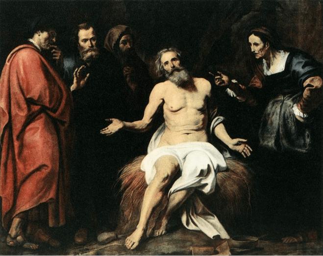 иллюстрация к библии КНИГА ИОВА глава 19