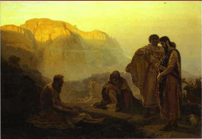 иллюстрация к библии КНИГА ЕСФИРЬ глава 9