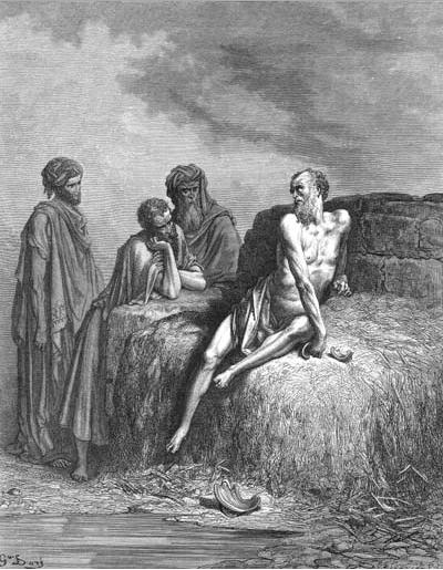 иллюстрация к библии КНИГА ИОВА глава 2