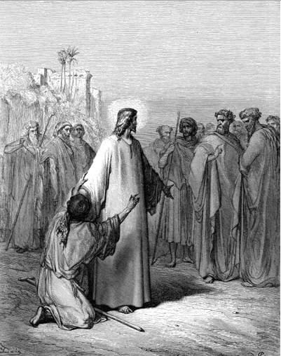 иллюстрация к библии ЕВАНГЕЛИЕ ОТ МАТФЕЯ глава 9