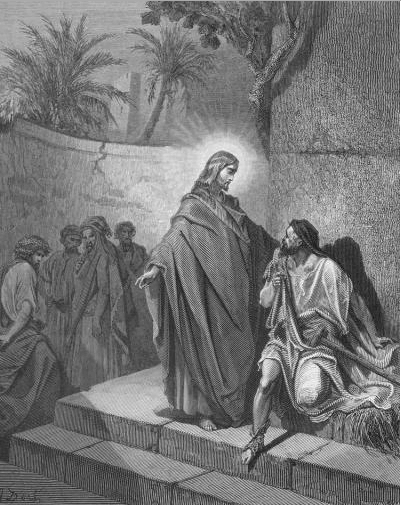 иллюстрация к библии ЕВАНГЕЛИЕ ОТ МАТФЕЯ глава 12