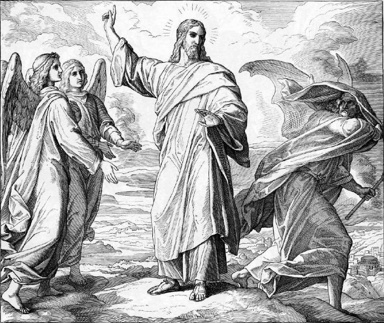 иллюстрация к библии ЕВАНГЕЛИЕ ОТ МАТФЕЯ глава 4