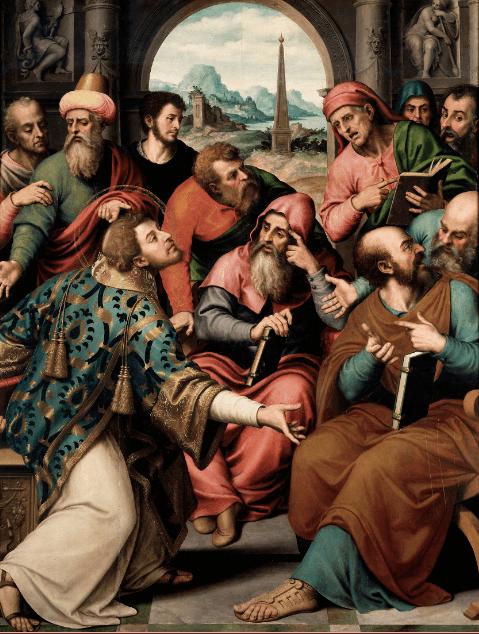 иллюстрация к библии Деяния святых апостолов глава 6
