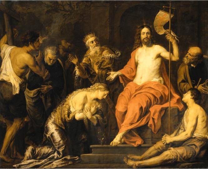иллюстрация к библии Деяния святых апостолов глава 3