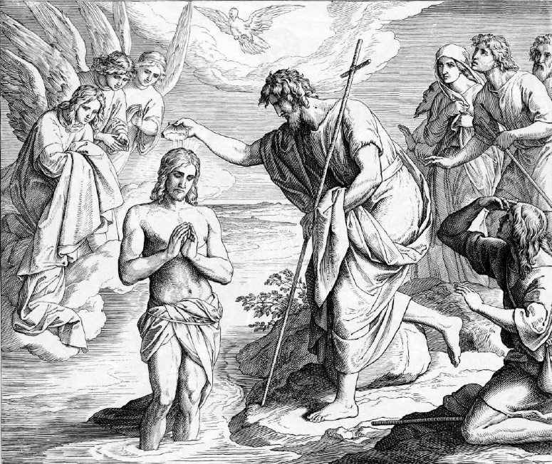 иллюстрация к библии ЕВАНГЕЛИЕ ОТ МАТФЕЯ глава 3