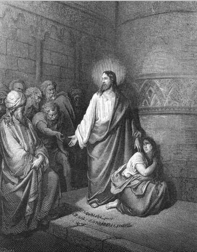 иллюстрация к библии ЕВАГЕЛИЕ ОТ ИОАННА глава 8