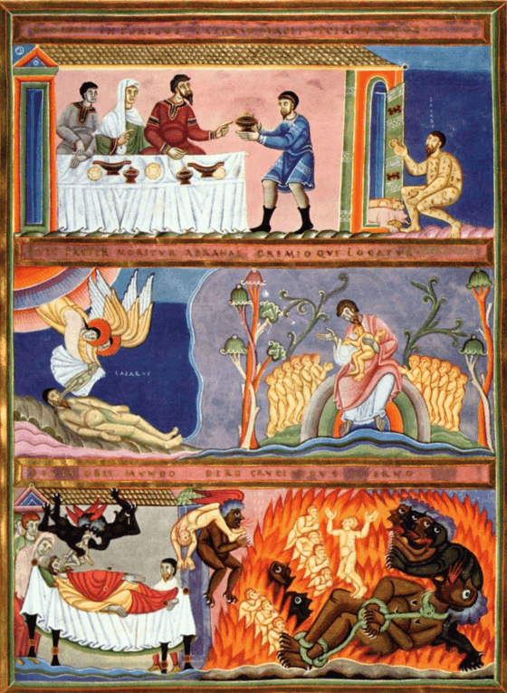 иллюстрация к библии ЕВАНГЕЛИЕ ОТ ЛУКИ глава 16