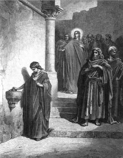 иллюстрация к библии ЕВАНГЕЛИЕ ОТ МАРКА глава 12