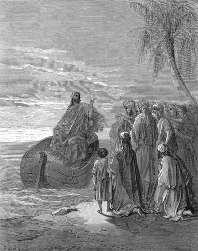 иллюстрация к библии ЕВАНГЕЛИЕ ОТ ЛУКИ глава 5