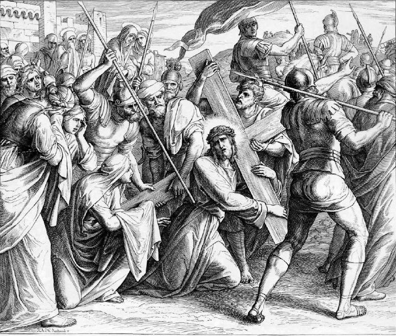 иллюстрация к библии ЕВАНГЕЛИЕ ОТ ЛУКИ глава 23