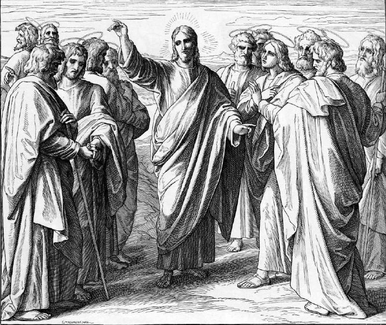 иллюстрация к библии ЕВАНГЕЛИЕ ОТ МАТФЕЯ глава 10