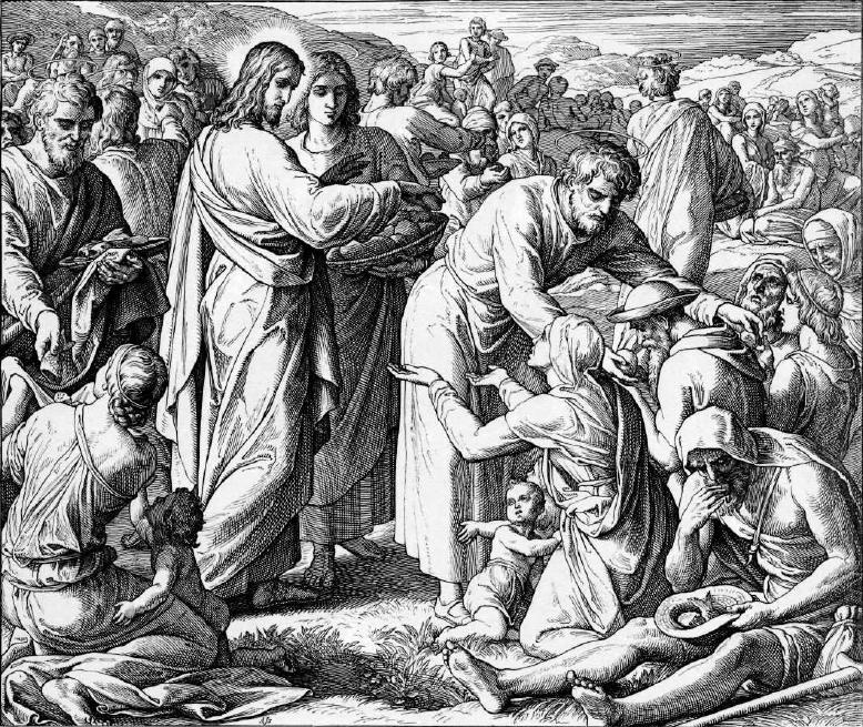 иллюстрация к библии ЕВАГЕЛИЕ ОТ ИОАННА глава 6
