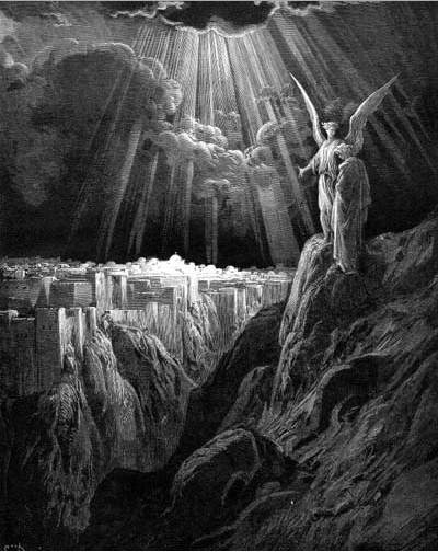 иллюстрация к библии ОТКРОВЕНИЕ ИОАННА БОГОСЛОВА глава 21