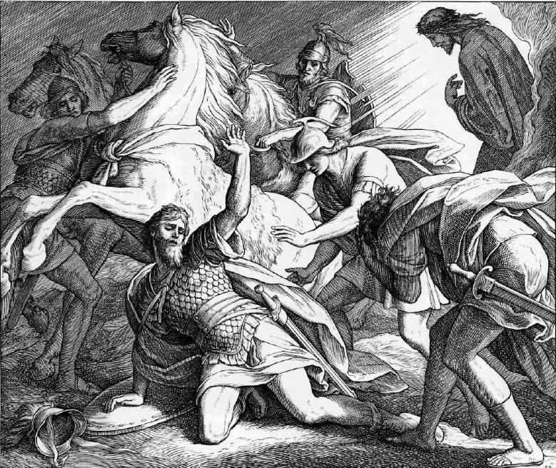 иллюстрация к библии ДЕЯНИЕ СВЯТЫХ АПОСТОЛОВ глава 9