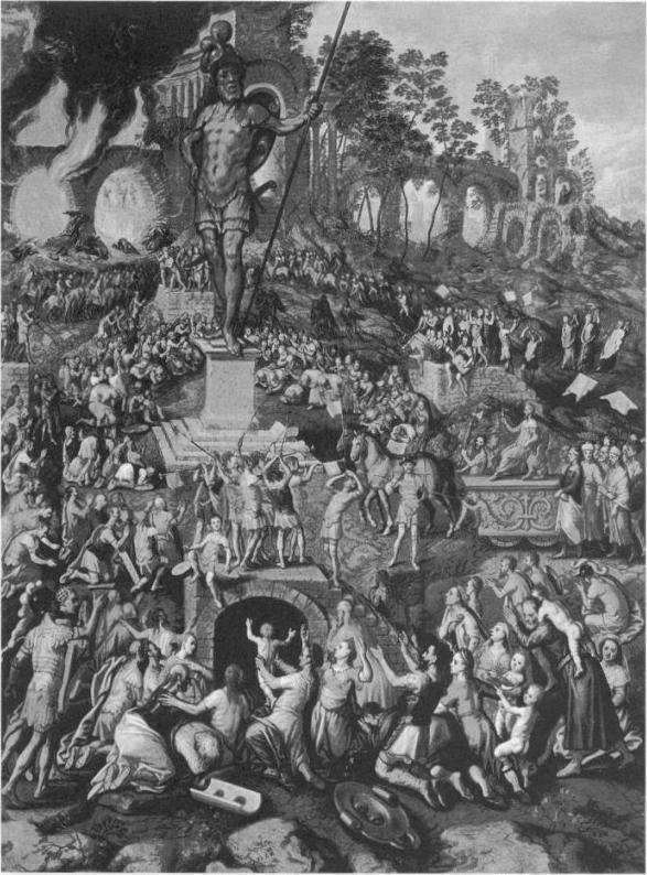 иллюстрация к библии КНИГА ПРОРОКА ДАНИИЛА глава 3