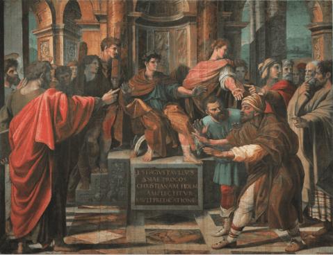 иллюстрация к библии Деяния святых апостолов глава 13