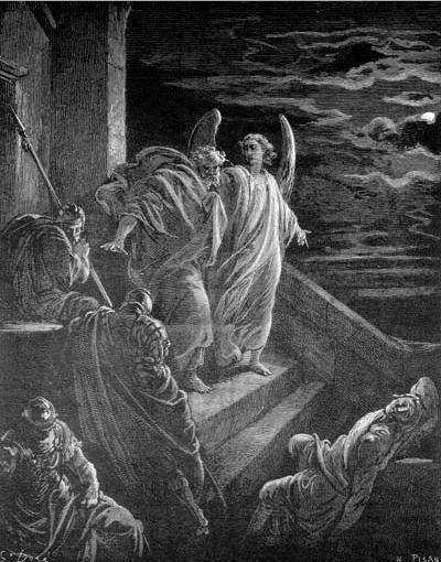 иллюстрация к библии ДЕЯНИЕ СВЯТЫХ АПОСТОЛОВ глава 12
