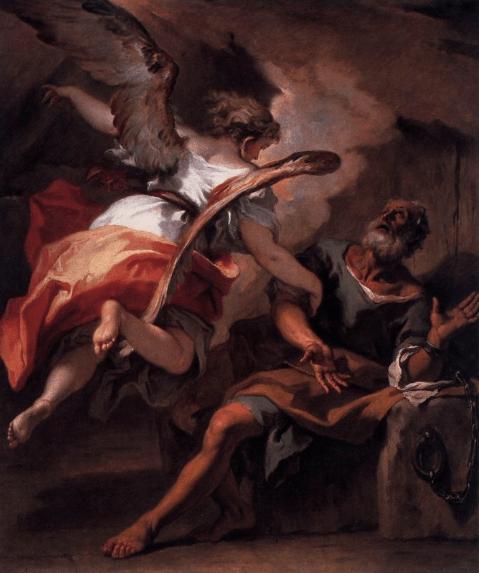 иллюстрация к библии Деяния святых апостолов глава 12