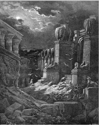 иллюстрация к библии ОТКРОВЕНИЕ ИОАННА БОГОСЛОВА глава 18
