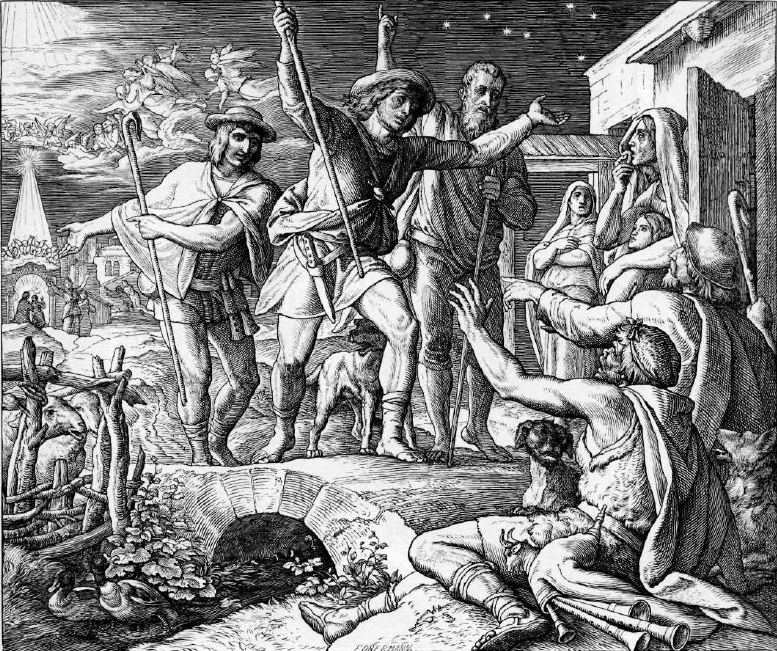 иллюстрация к библии ЕВАНГЕЛИЕ ОТ ЛУКИ глава 2