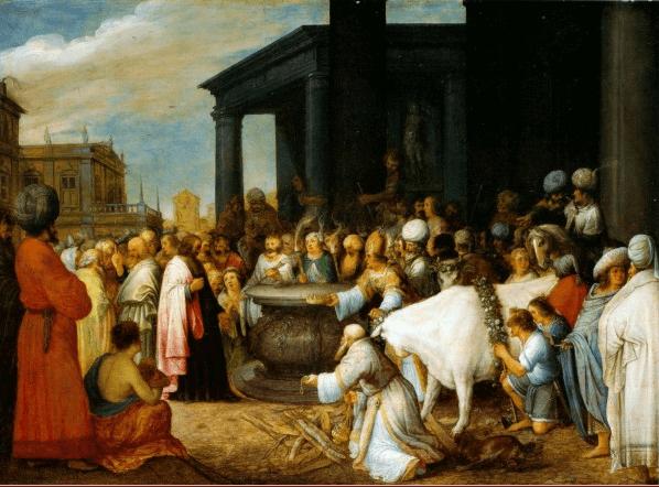 иллюстрация к библии Деяния святых апостолов глава 14