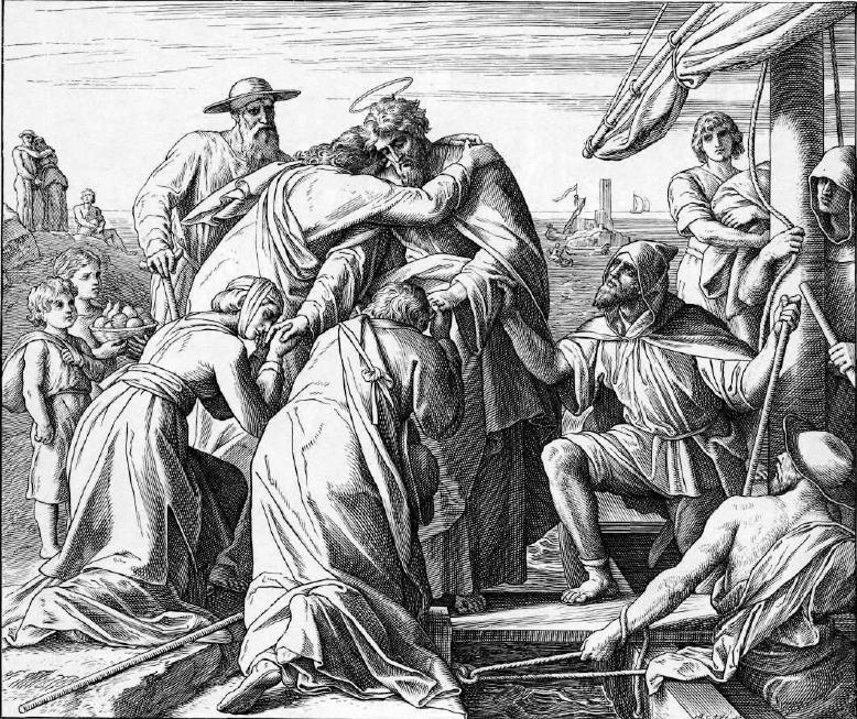 иллюстрация к библии ДЕЯНИЕ СВЯТЫХ АПОСТОЛОВ глава 20