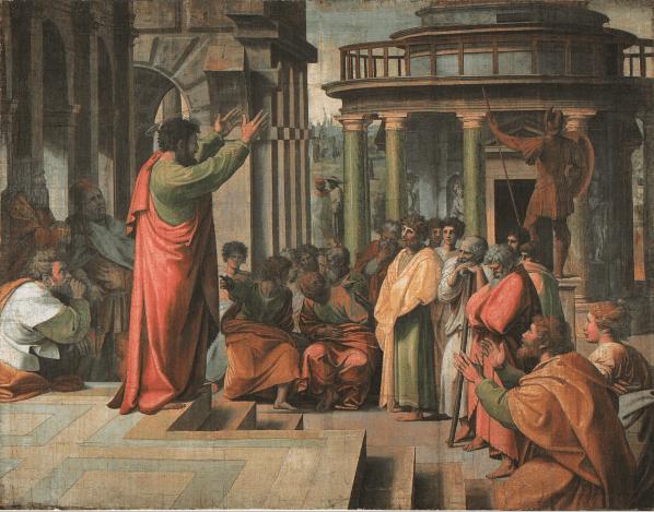 иллюстрация к библии Деяния святых апостолов глава 17