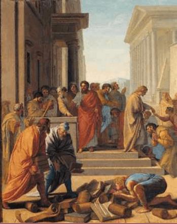 иллюстрация к библии Деяния святых апостолов глава 19