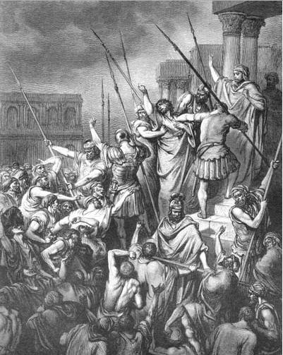 иллюстрация к библии ДЕЯНИЕ СВЯТЫХ АПОСТОЛОВ глава 22