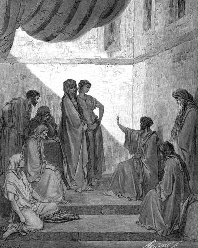 иллюстрация к библии ДЕЯНИЕ СВЯТЫХ АПОСТОЛОВ глава 10