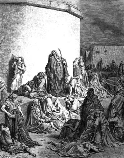иллюстрация к библии ПЛАЧ ИЕРЕМИИ глава 1