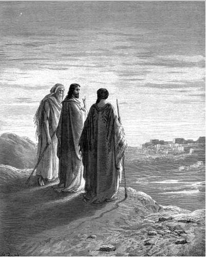 иллюстрация к библии ЕВАНГЕЛИЕ ОТ ЛУКИ глава 24