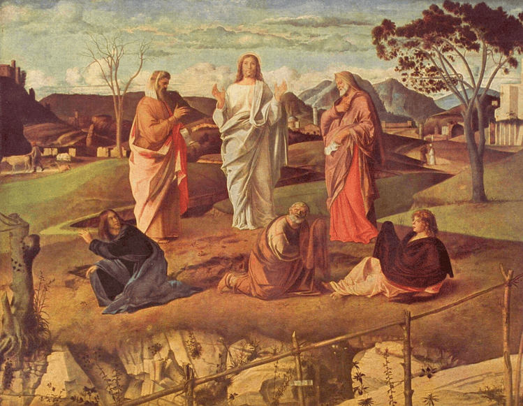 иллюстрация к библии ЕВАНГЕЛИЕ ОТ ЛУКИ глава 9