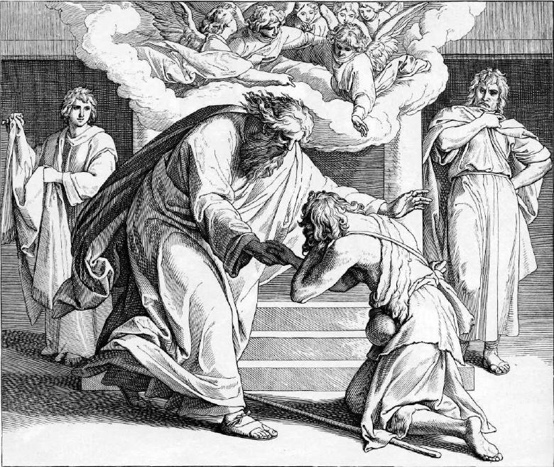 иллюстрация к библии ЕВАНГЕЛИЕ ОТ ЛУКИ глава 15