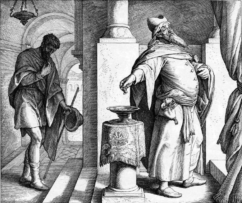 иллюстрация к библии ЕВАНГЕЛИЕ ОТ ЛУКИ глава 18