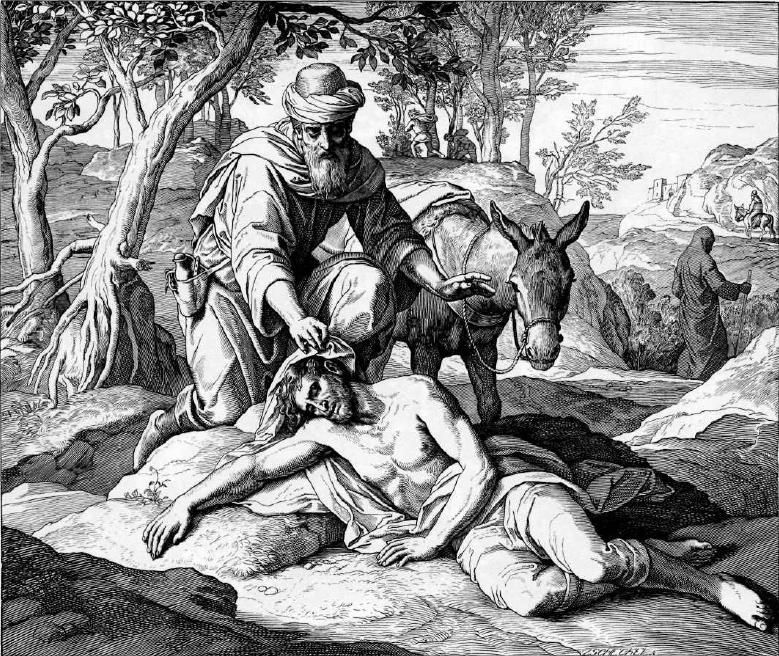 иллюстрация к библии ЕВАНГЕЛИЕ ОТ ЛУКИ глава 10