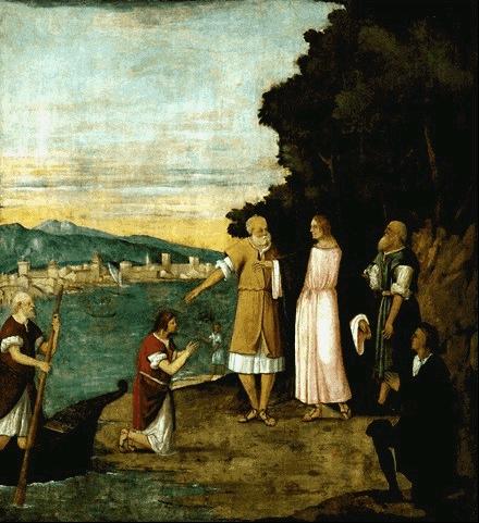 иллюстрация к библии ЕВАНГЕЛИЕ ОТ Марка глава 1