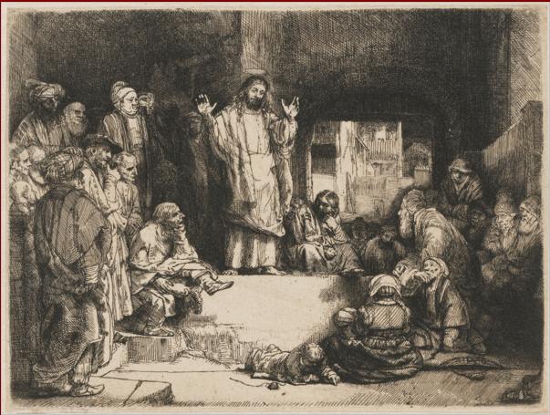 иллюстрация к библии ЕВАНГЕЛИЕ ОТ ЛУКИ глава 3