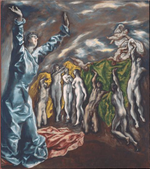 иллюстрация к библии Книга Откровение Иоанна глава 6