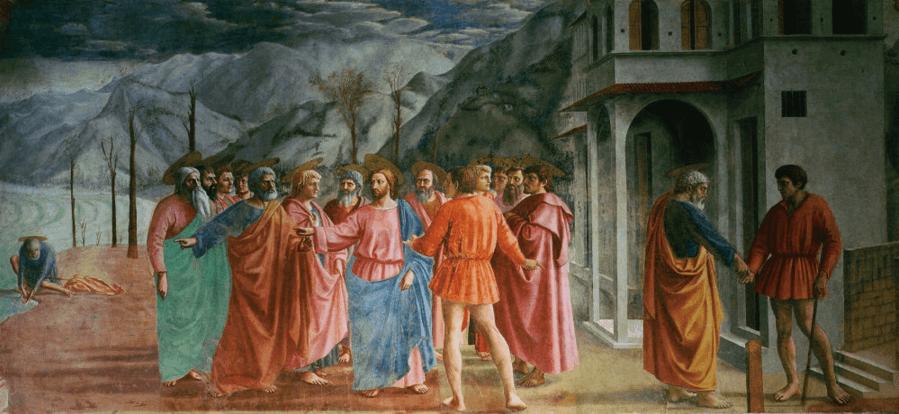 иллюстрация к библии ЕВАНГЕЛИЕ ОТ МАТФЕЯ глава 17