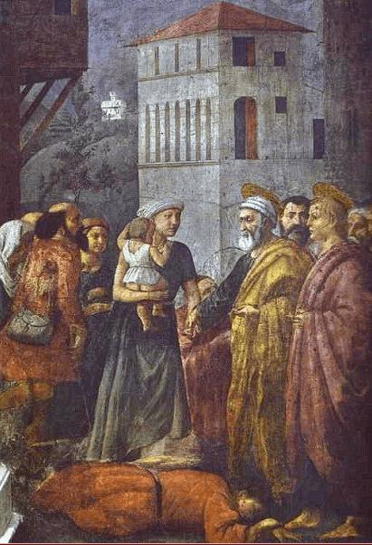 иллюстрация к библии Деяния святых апостолов глава 5